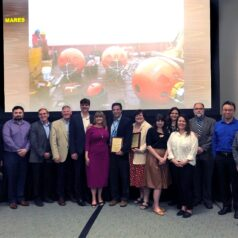 Members of the MARES team at the NOPP Excellence in Partnering Award Ceremony, San Diego, California, Feb 20, 2020
